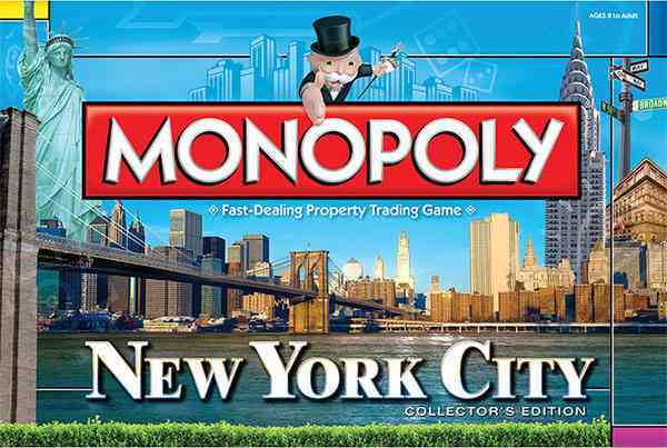 USAopoly Monopoly : New York City Collector�s Edition By Usaopoly (COR) at Sears.com
